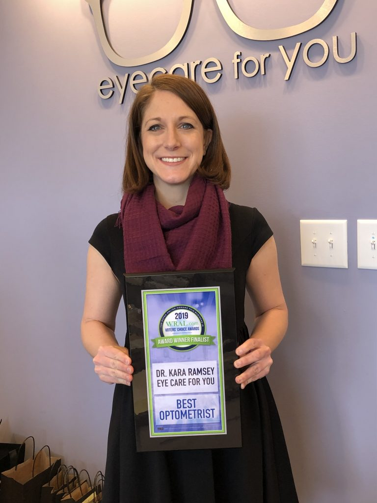 Dr. Kara Ramsey - Eye Care For You - Voted best Optometrist WRAL.com Voter's Choice Awards
